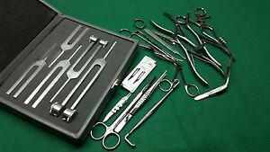 30 Pcs Set Of Ent Surgical Veterinary Diagnostic Surgery Instruments