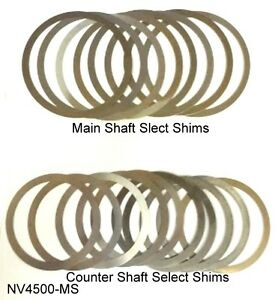 Dodge Nv4500 Transmission Master Shim Kit Nv4500 Smk