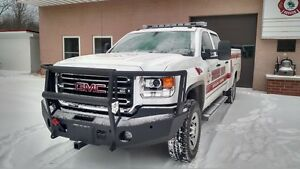 2015 Gmc Winch Bumper 2500 3500 With Mooseknuckle Brushguard