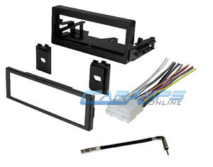 Car Truck Stereo Radio Dash Installation Kit W Wiring Harness Antenna Adapter
