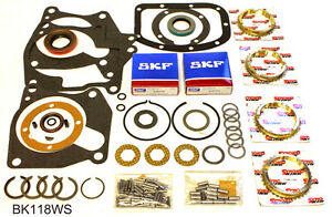Borg Warner Super T10 4 Speed Transmission Rebuild Kit Bk118ws