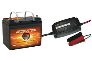 Vmax857 Bc1204 12v 35ah Agm Sla Battery Charger For Power Vac Pv2100