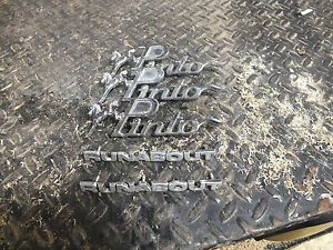 1970 S Ford Pinto Emblems Fomoco Oem Badge Chrome