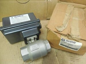 Dynaquip Electric Actuated Ball Valve 191017 Ae305 300 In Lb 1 1 2 Npt 115v New
