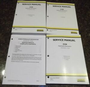 New Holland E50b Excavator Service Shop Repair Manual