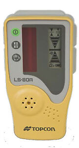 Topcon Ls 80a Rotating Laser Level Detector Without Clamp