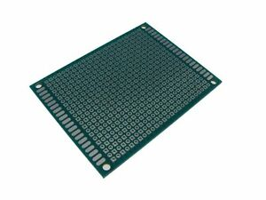 5pcs Hq 6 8cm Double Side Prototype Board Perforated 2 54mm Plated Through Hole