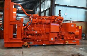 500 Kw Waukesha Vhp3600gsi Generator Natural Gas Used