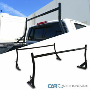 500 Lb 2 Bar Adjustable Truck Ladder Rack Pick Up Lumber Kayak Utility