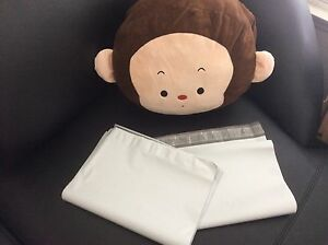100 White Poly Mailers Envelopes Bags 14 5 X 19