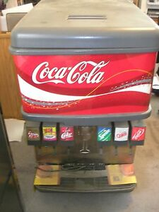 Imi Cornelius 6 Head Soda Coke Fountain W Ice Disp Carbonator Syrup Rack Nice