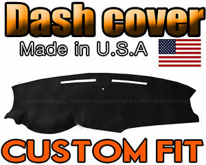 Fits 2011 2019 Dodge Caravan Dash Cover Mat Dashboard Pad Black
