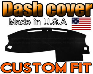 Fits 2005 2006 2007 Dodge Charger Dash Cover Mat Dashboard Pad Black