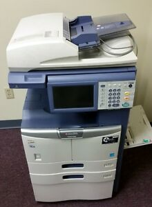 Toshiba Estudio 205l Multifunction Copier Printer Scanner Fax
