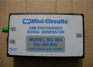 Mini Circuits Sg 960 Usb Synthesized Signal Generator 900 960mhz pictured