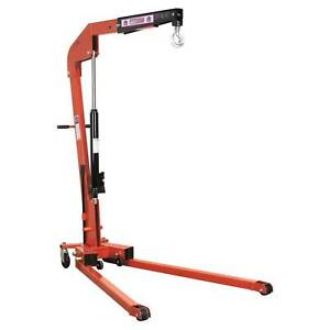 Sealey Premier Folding Engine Lifting Jacking Hoist Crane 1 Tonne Spc1000