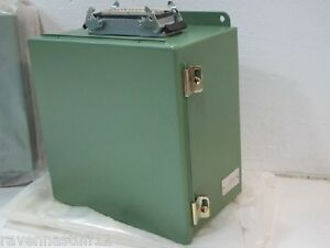Hoffman Epic H be 24 Ss High Voltage Industrial Plug Enclosure new