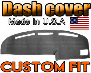 Fits 1989 1994 Toyota Pickup Dash Cover Mat Dashboard Pad Charcoal Grey