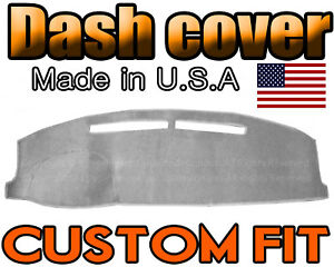 Fits 1979 1983 Toyota Pickup Dash Cover Mat Dashboard Pad Light Grey