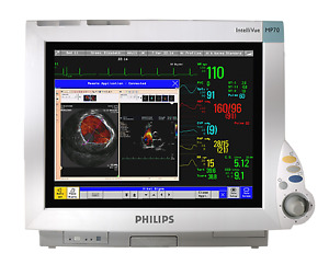 Philips Intellivue Mp70 M8007a Bedside Monitor Monitor Only