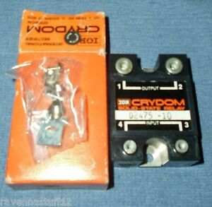 Crydom D2475 10 Solid State Relay new In Box