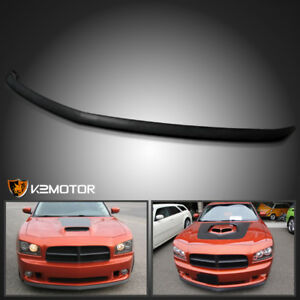 2006 2010 Dodge Charger Factory Style Abs Front Bumper Lip Spoiler