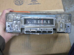 Mopar 60s Vintage Radio Am