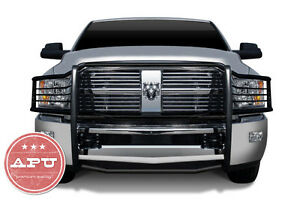 2006 2008 Dodge Ram 2500 3500 Grille Guard Push Bar Black Powder Coated