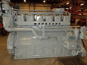 Waukesha Vhp L3521gsi Swing Engine Ready To Go