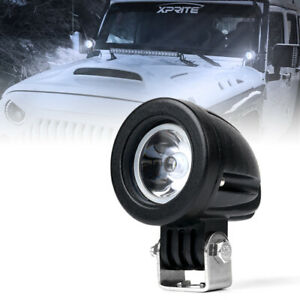 2 Inch 10w Spot Cree Led Light Offroad Round Work Lamp For Truck 4wd Atv 4x4