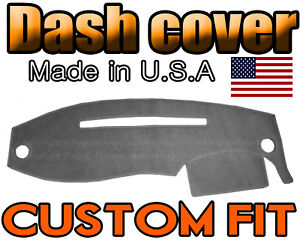 Fits 1995 2011 Ford Ranger Dash Cover Mat Dashboard Pad Charcoal Grey