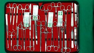 107 Pc O r Us Military Field Minor Surgery Surgical Veterinary Dental Inst Kit
