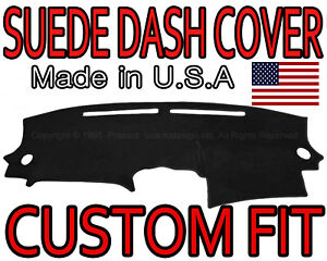 Fits 2007 2012 Nissan Altima Suede Dash Cover Mat Dashboard Pad Black