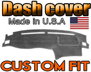 Fits 2005 2006 Hyundai Elantra Dash Cover Mat Dashboard Pad Charcoal Grey