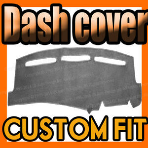 Fits 1993 1995 Jeep Grand Cherokee Dash Cover Mat Dashboard Pad Charcoal Grey