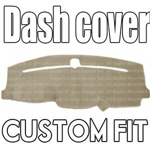 Fits 2011 2019 Jeep Grand Cherokee Dash Cover Mat Dashboard Pad Beige