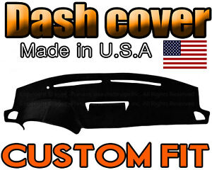 Fits 2003 2006 Infiniti G35 Dash Cover Mat Dashboard Pad Black