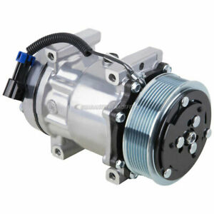Ac Compressor A c Clutch For Freightliner Replaces Sanden 4417 4485 4075
