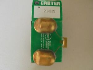 Carter Air Intake fuel Delivery Carburetor Parts 21 235 3l