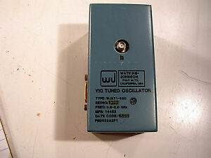 Watkins Johnson Wj571 33d Yig Tuned Oscillator 5 2 0 Ghz