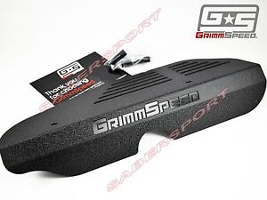 In Stock Grimmspeed Black Alternator Cover For 2002 2014 Wrx 2004 2017 Sti