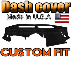 Fits 2004 2006 Nissan 350z Dash Cover Mat Dashboard Pad Black