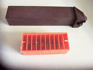 New Mtvol 204 1 1 4 Threading Tool Holder left Hand W 10 Threading Insert