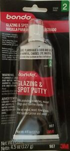 3m Bondo 907 Glazing And Spot Putty 4 5 Fl Oz Tube