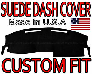Fits 2008 2010 Dodge Charger Suede Dash Cover Mat Dashboard Pad Black