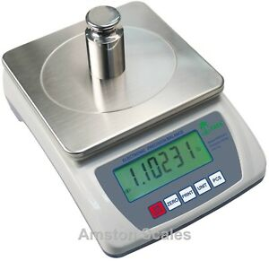 6 000 X 0 1 Gram Digital Scale Balance Lab Analytical Laboratory Top Loader Asm