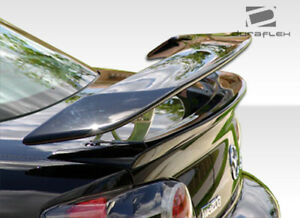 Duraflex M 1 Speed Wing Trunk Lid Spoiler 3 Piece For Rx 8 Mazda 04 11 Ed1