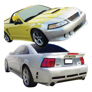 Duraflex Colt Body Kit 4 Piece For Mustang Ford 99 04 Ed_110230