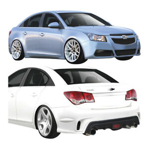 Duraflex Gt Racing Body Kit 4 Piece For Cruze Chevrolet 11 15 Ed109505