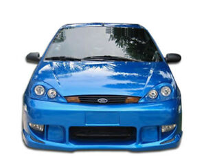 Duraflex Zx3 Zx5 Poison Body Kit 4 Pc For Ford Focus 00 04 Ed_110201